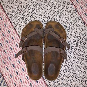 Mocca Mayari Birkenstock Sandals